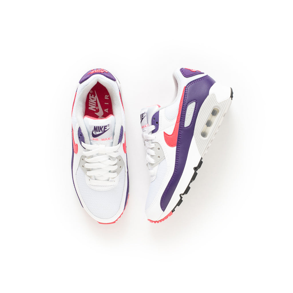Nike Women's Air Max III (White/Eggplant/Flare-Zen Grey)
