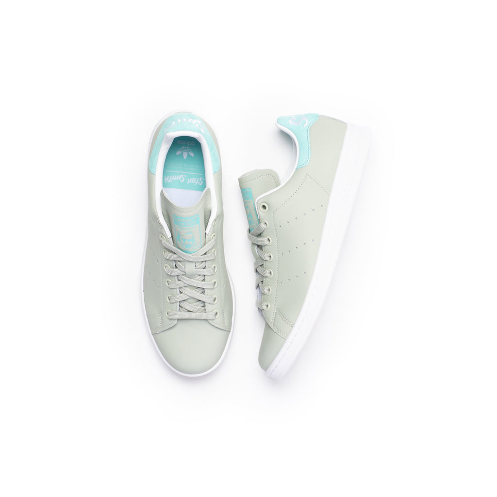 Adidas Stan Smith (Ash Silver/Easy Mint-Footwear White)