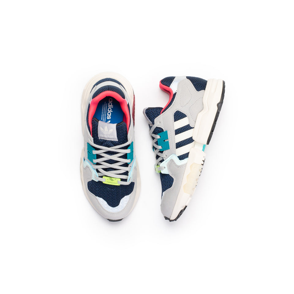 Adidas Women's ZX Torsion (College Navy/Off White-Grey Two) - Adidas
