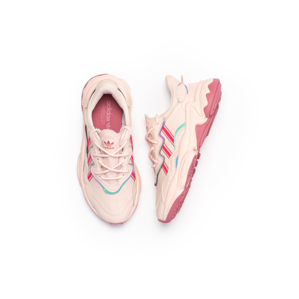 Adidas Women's Ozweego (Ice Pink/Real Pink/Trace Maroon)