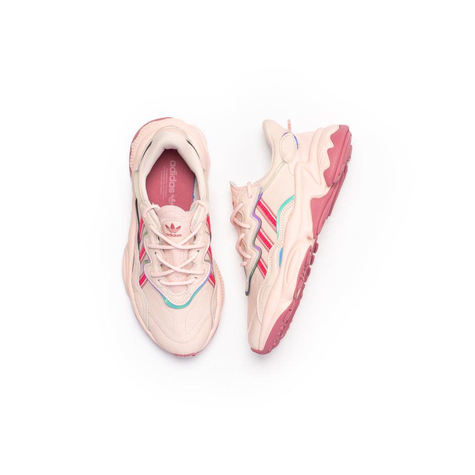 Adidas Women's Ozweego (Ice Pink/Real Pink/Trace Maroon) - Adidas