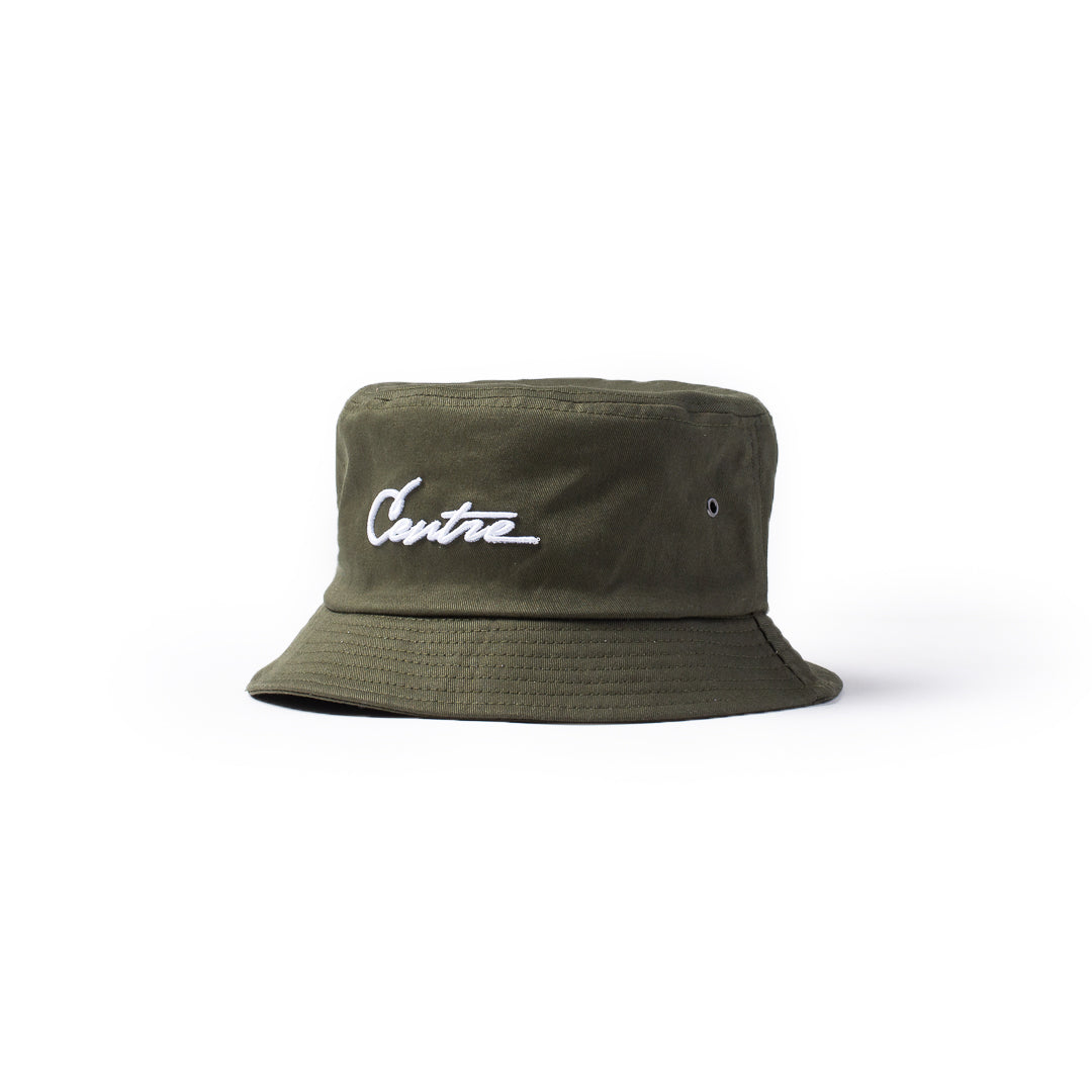 Centre Bucket Hat (Olive) - Centre Bucket Hat (Olive) -