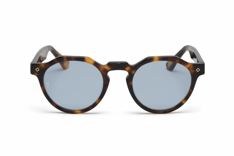 Wonderland Fontana Sunglasses (Brown Tortoise/Blue) - Accessories - Eyewear