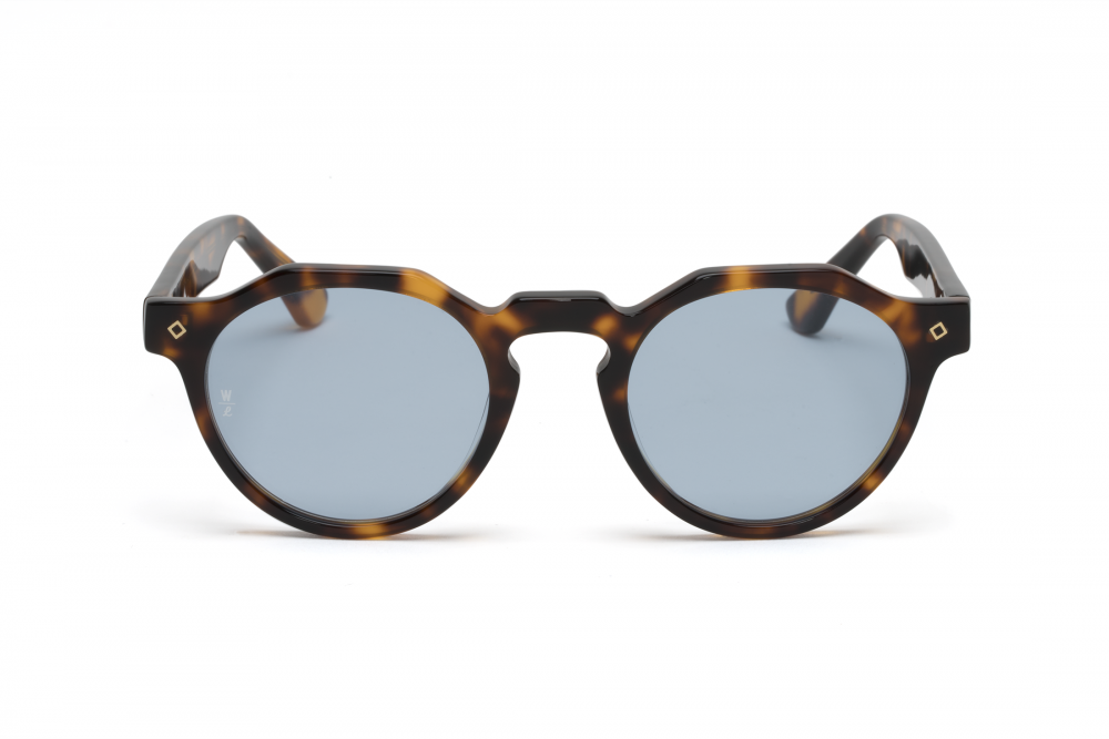 Wonderland Fontana Sunglasses (Brown Tortoise/Blue) - Wonderland Fontana Sunglasses (Brown Tortoise/Blue) -