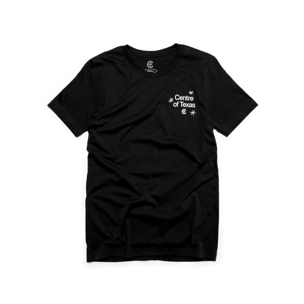 Centre Of Texas Deep Fried Tee (Black)