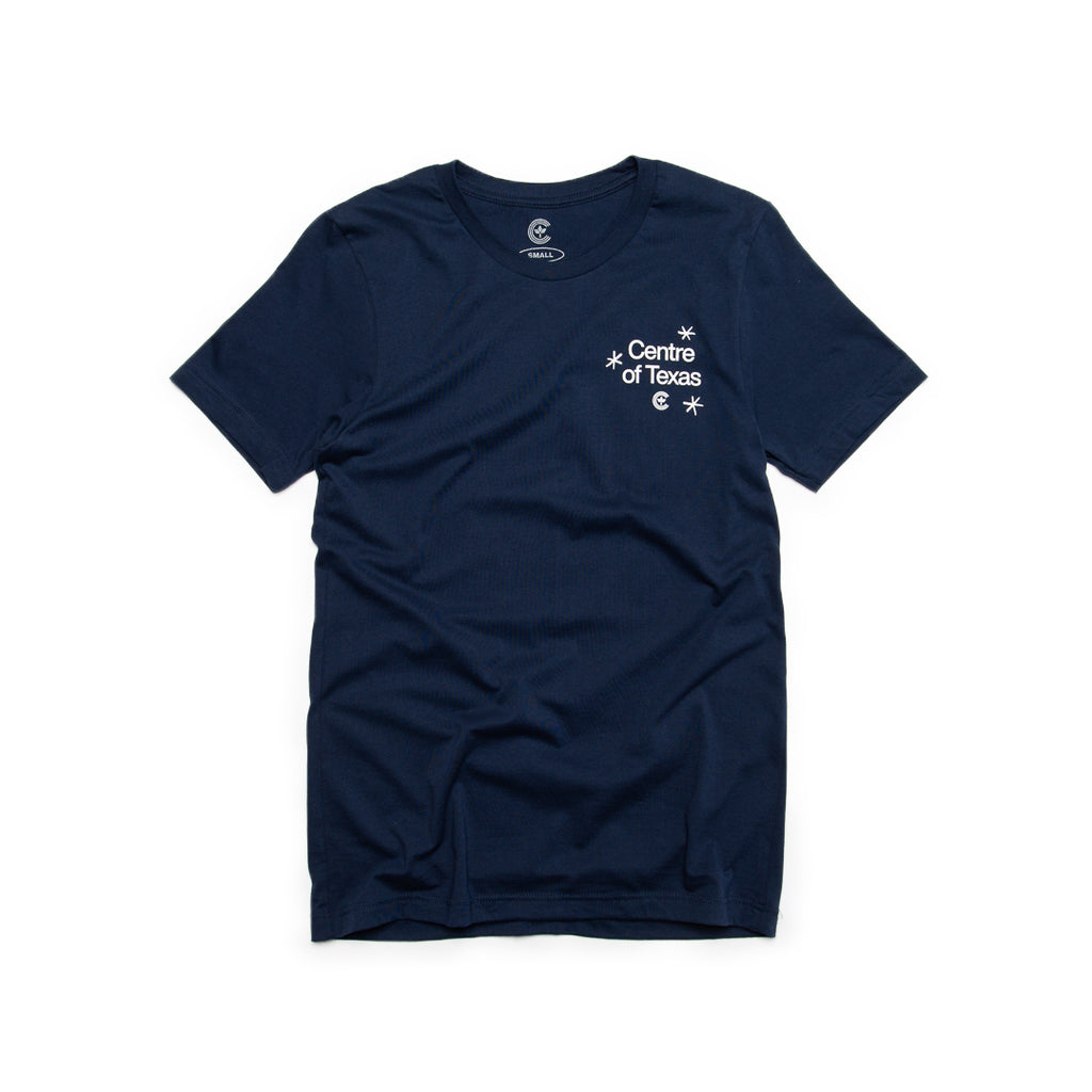 Centre Of Texas Deep Fried Tee (Navy)