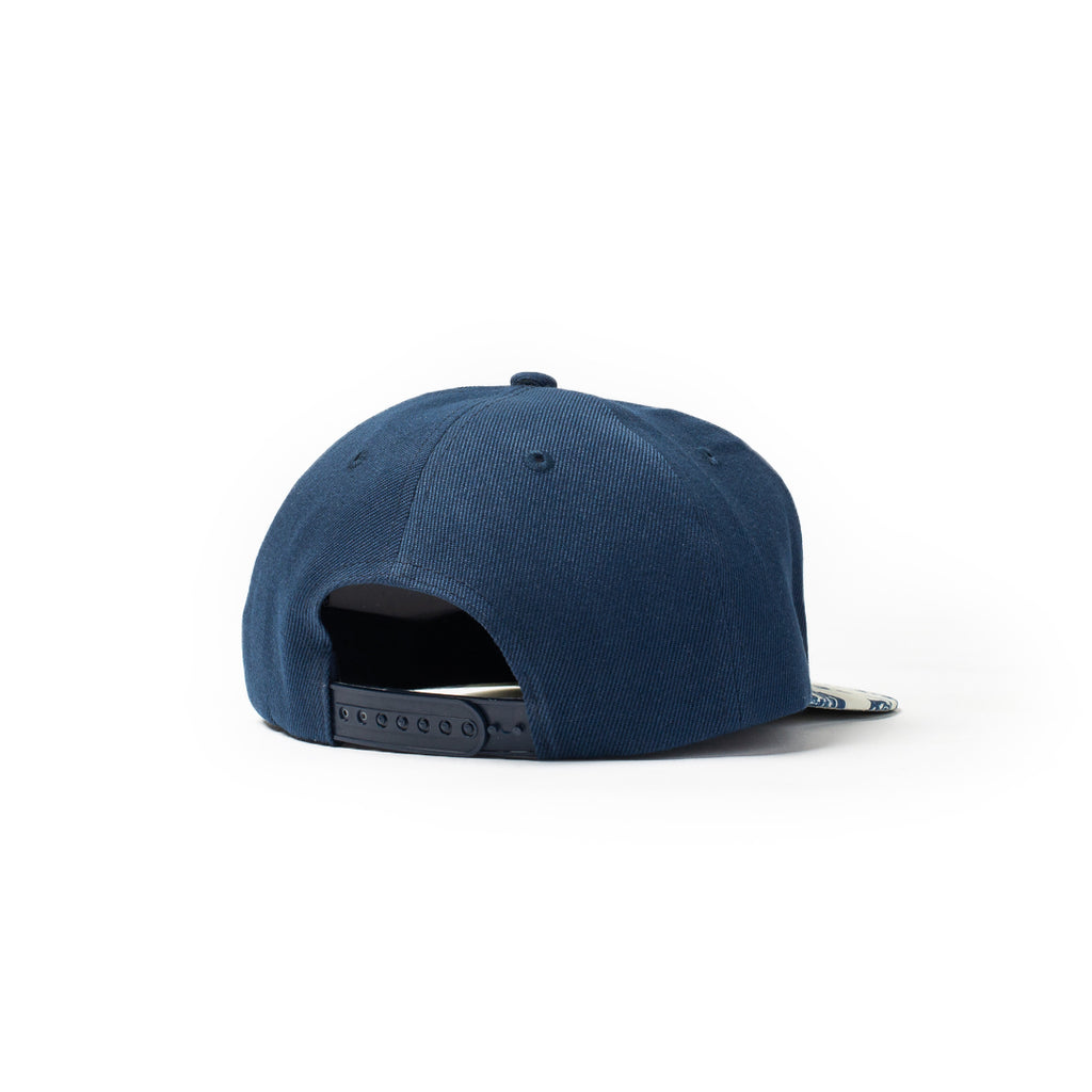 Centre Magnolia Baseball Hat (Navy/Bone)