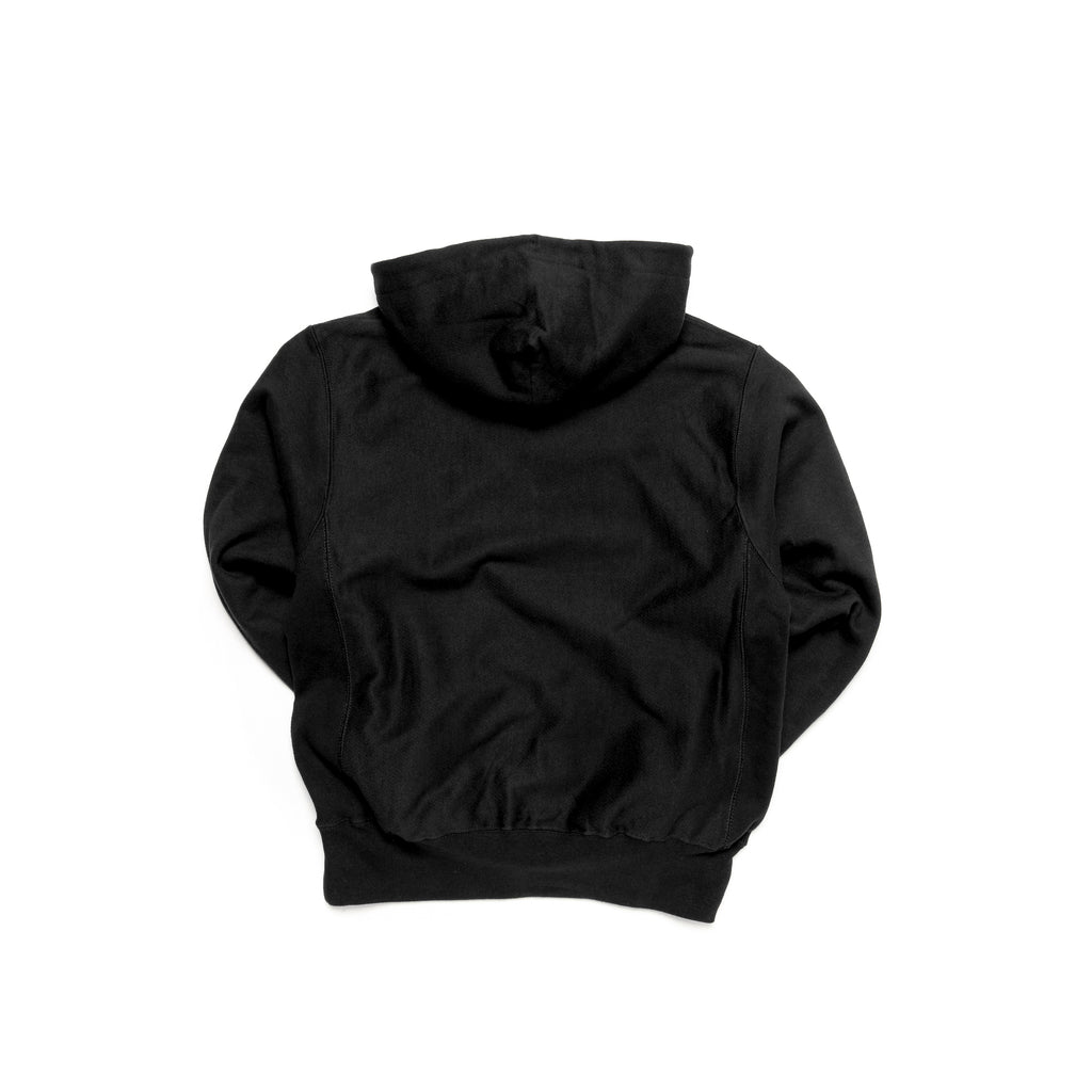 Centre Heavyweights Tonal Fleece Hoodie (Black)