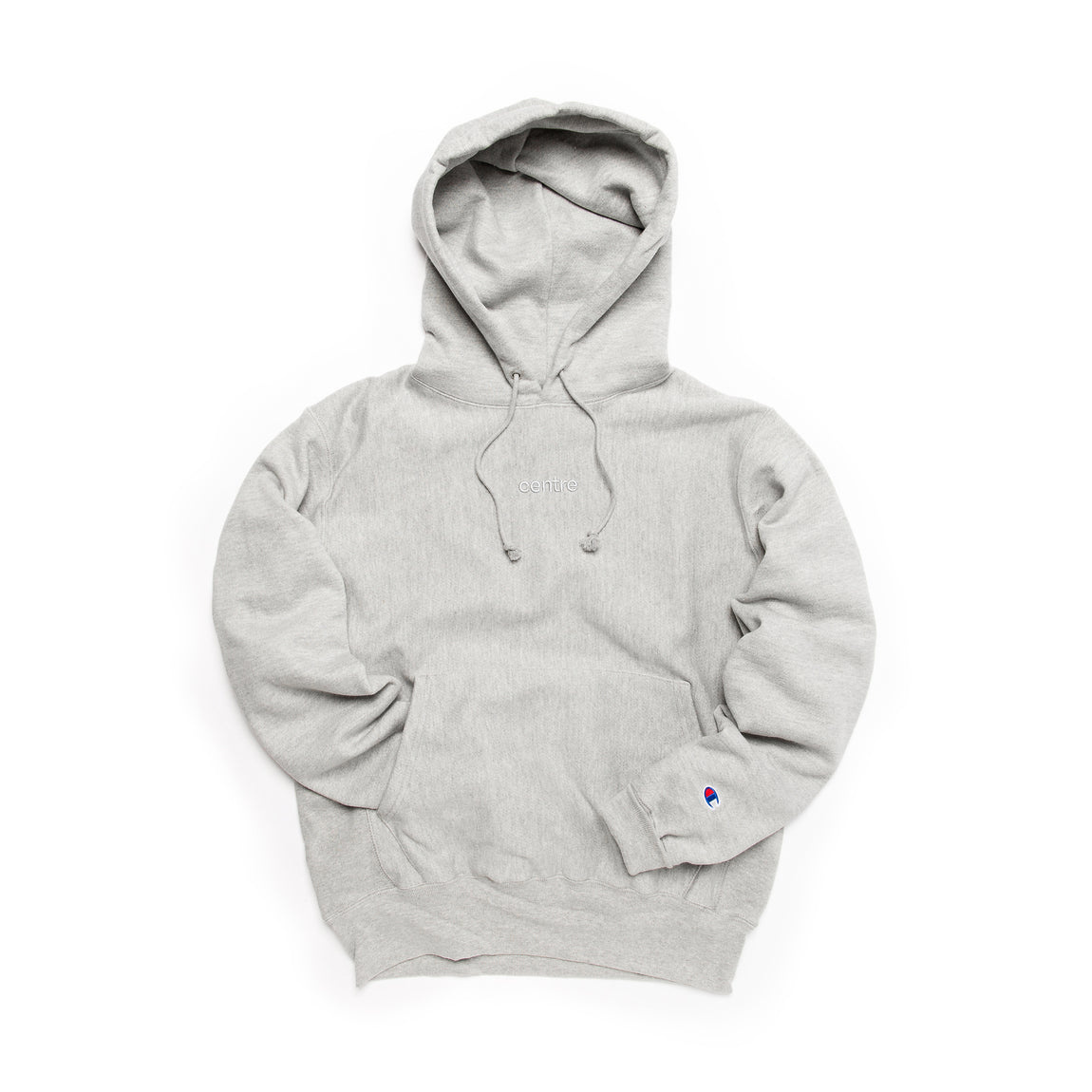 Centre Heavyweights Tonal Fleece Hoodie (Oxford Grey) - Centre Heavyweights Tonal Fleece Hoodie (Oxford Grey) -