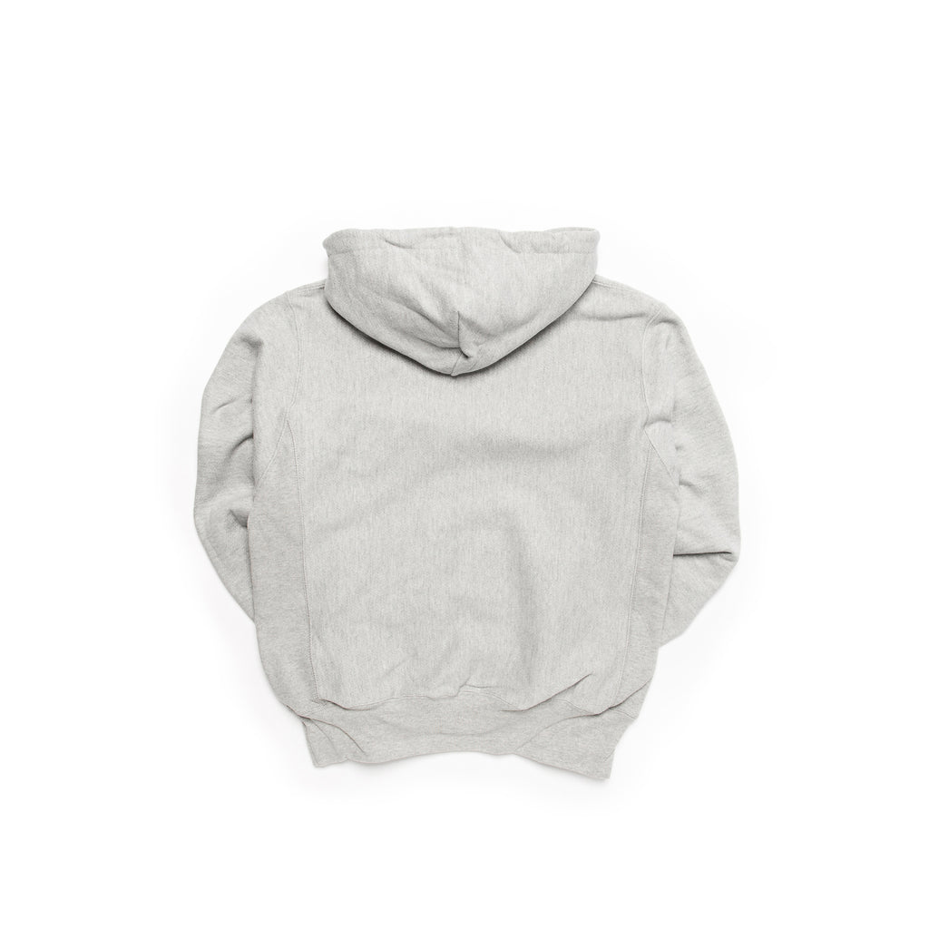 Centre Heavyweights Tonal Fleece Hoodie (Oxford Grey)