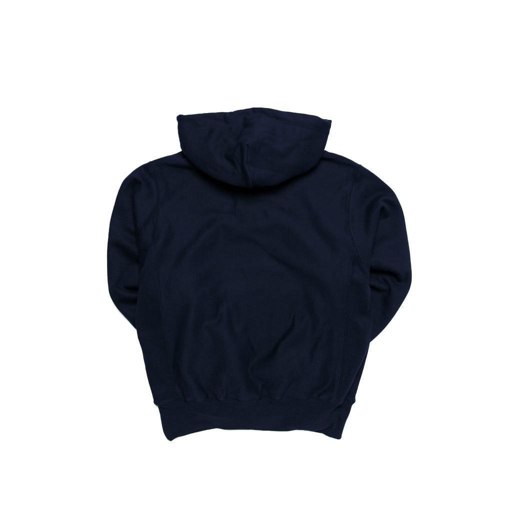 Centre Heavyweights Tonal Fleece Hoodie (Navy)