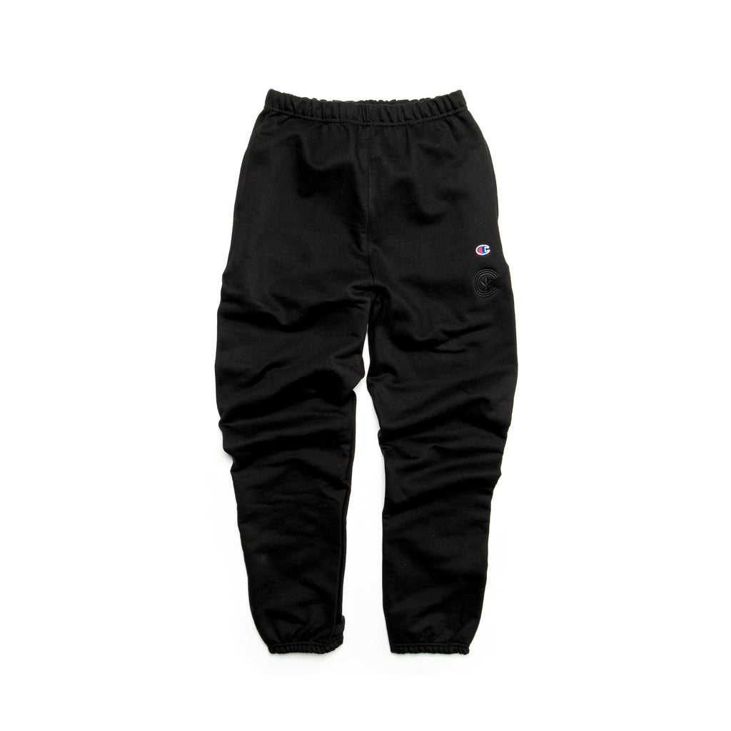 Centre Heavyweights Tonal Fleece Pants (Black)
