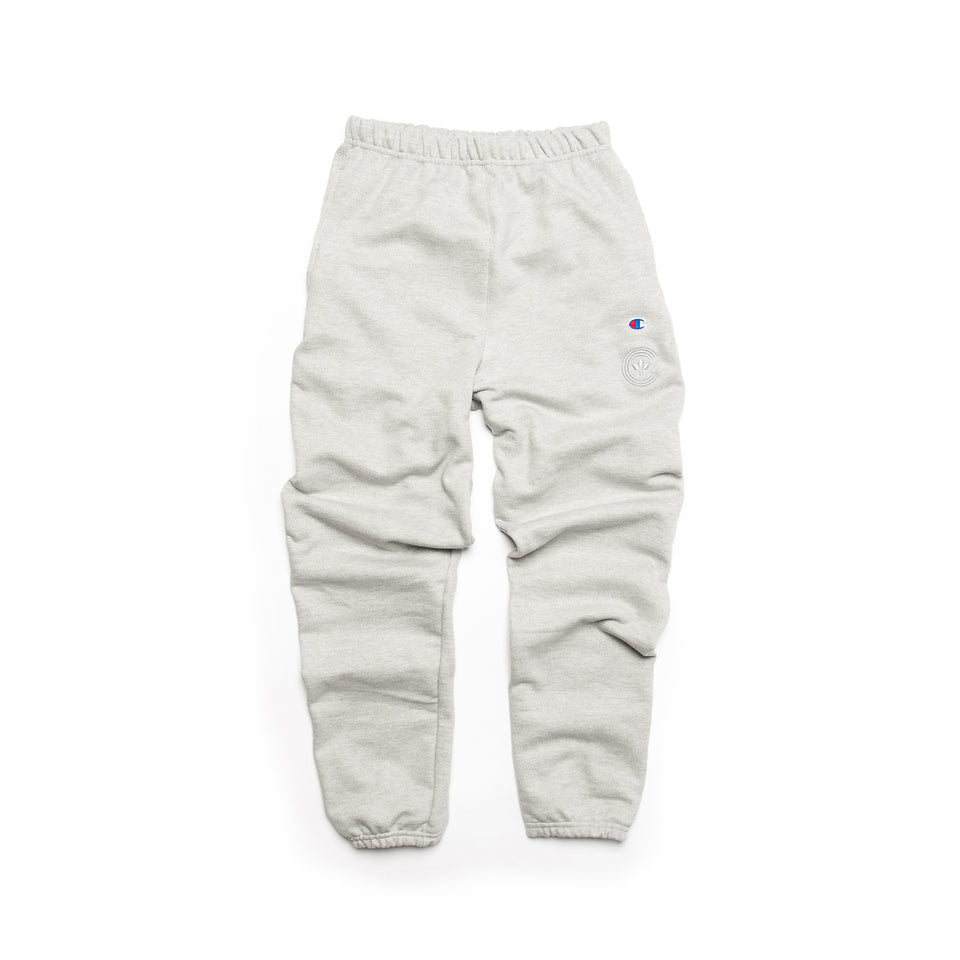 Centre Heavyweights Tonal Fleece Pants (Oxford Grey) - Centre Bottoms