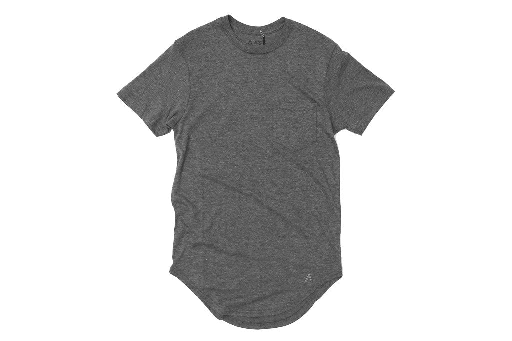 Acrux Scoop Pocket Tee (Grey)