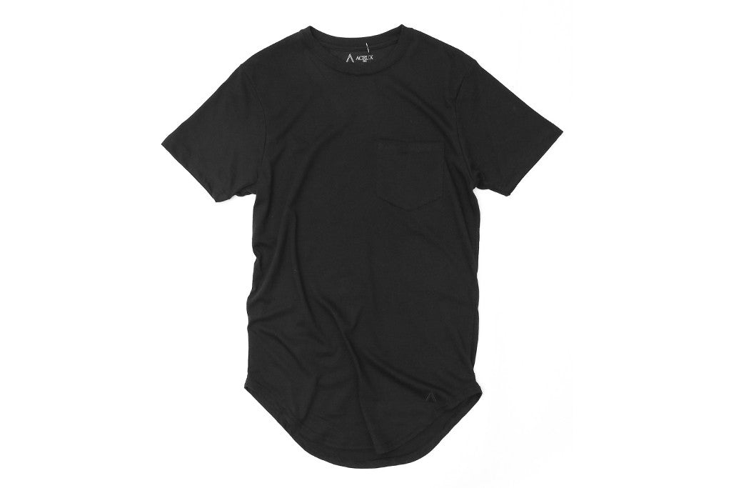 Acrux Scoop Pocket Tee (Black)