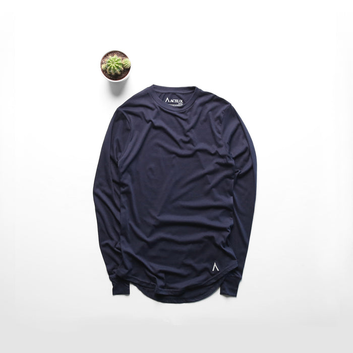 Acrux Long Sleeve Tee (Navy)