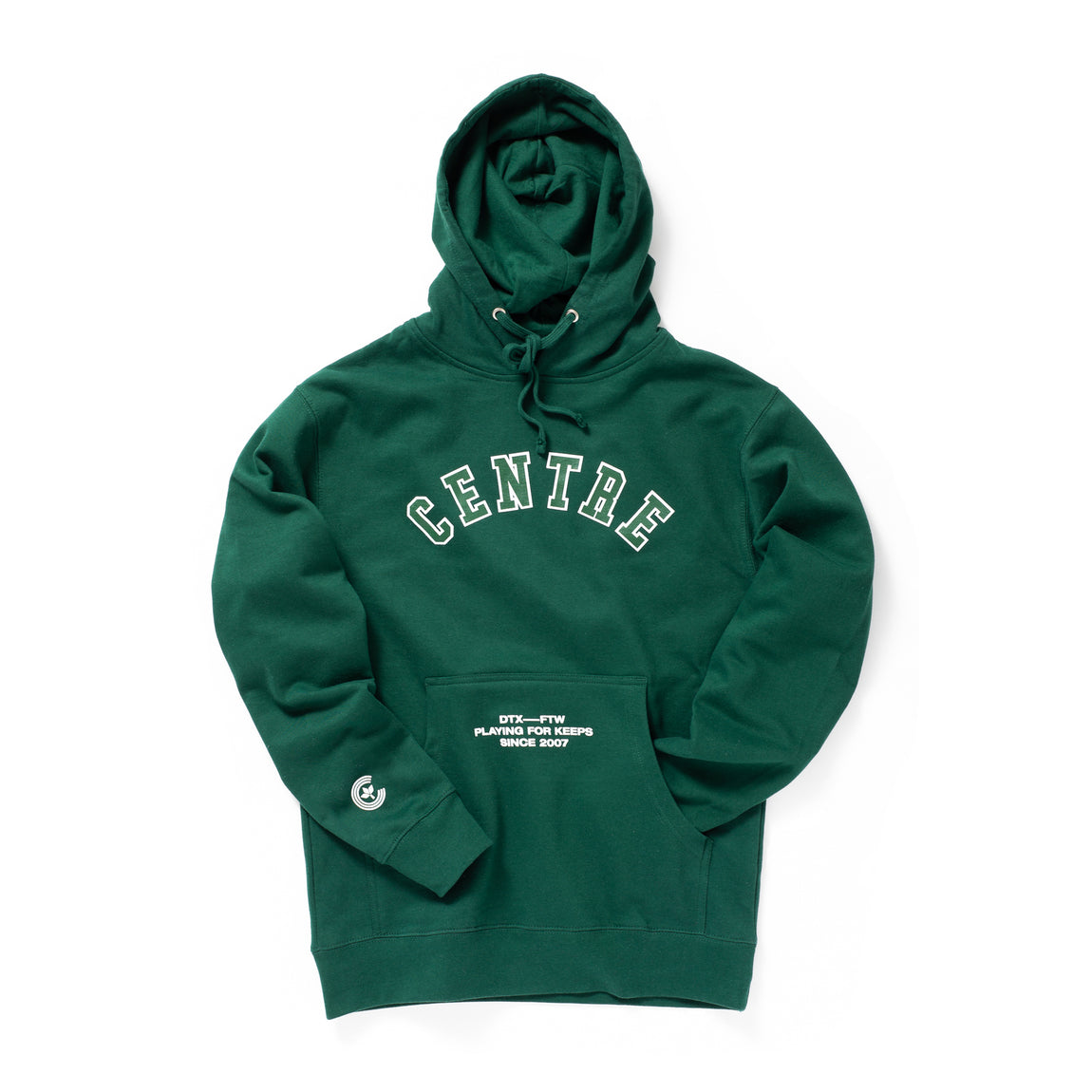 Centre Ivy League Hoodie (Dark Green) - Centre Ivy League Hoodie (Dark Green) -