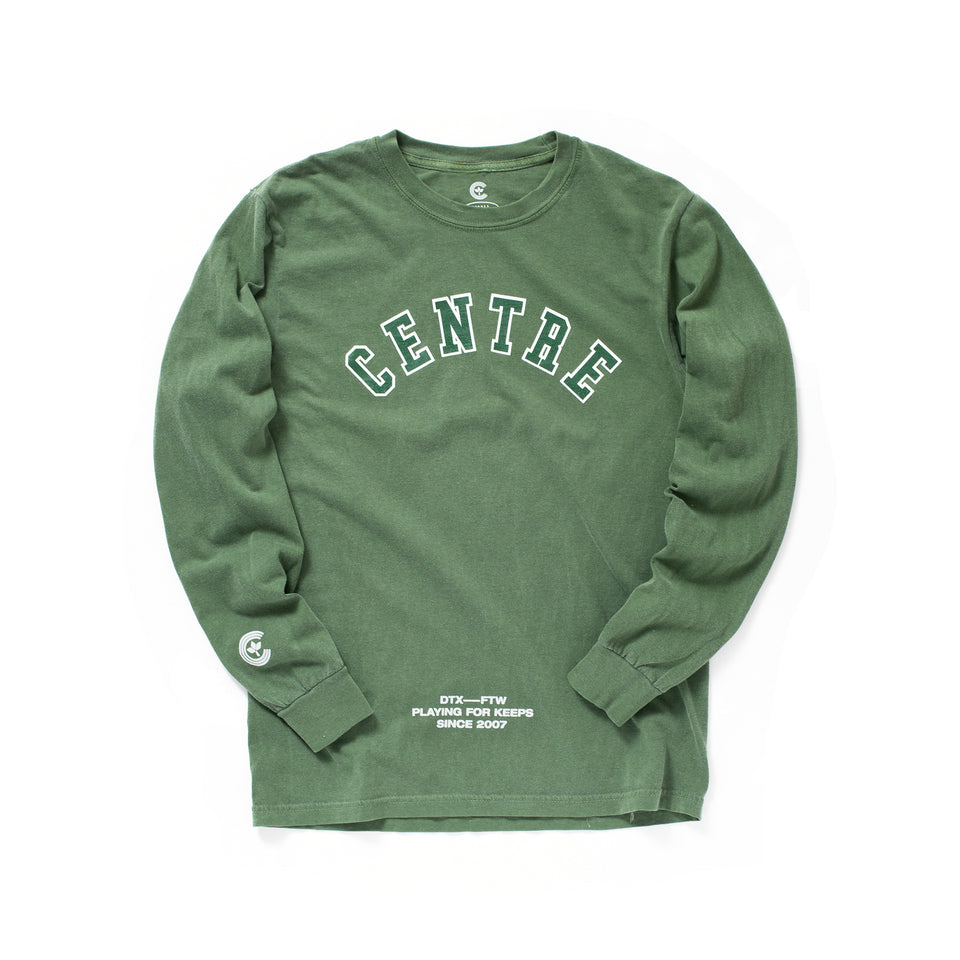 Centre Ivy League Long Sleeve Tee (Hemp) - Women's - Tees & Tanks