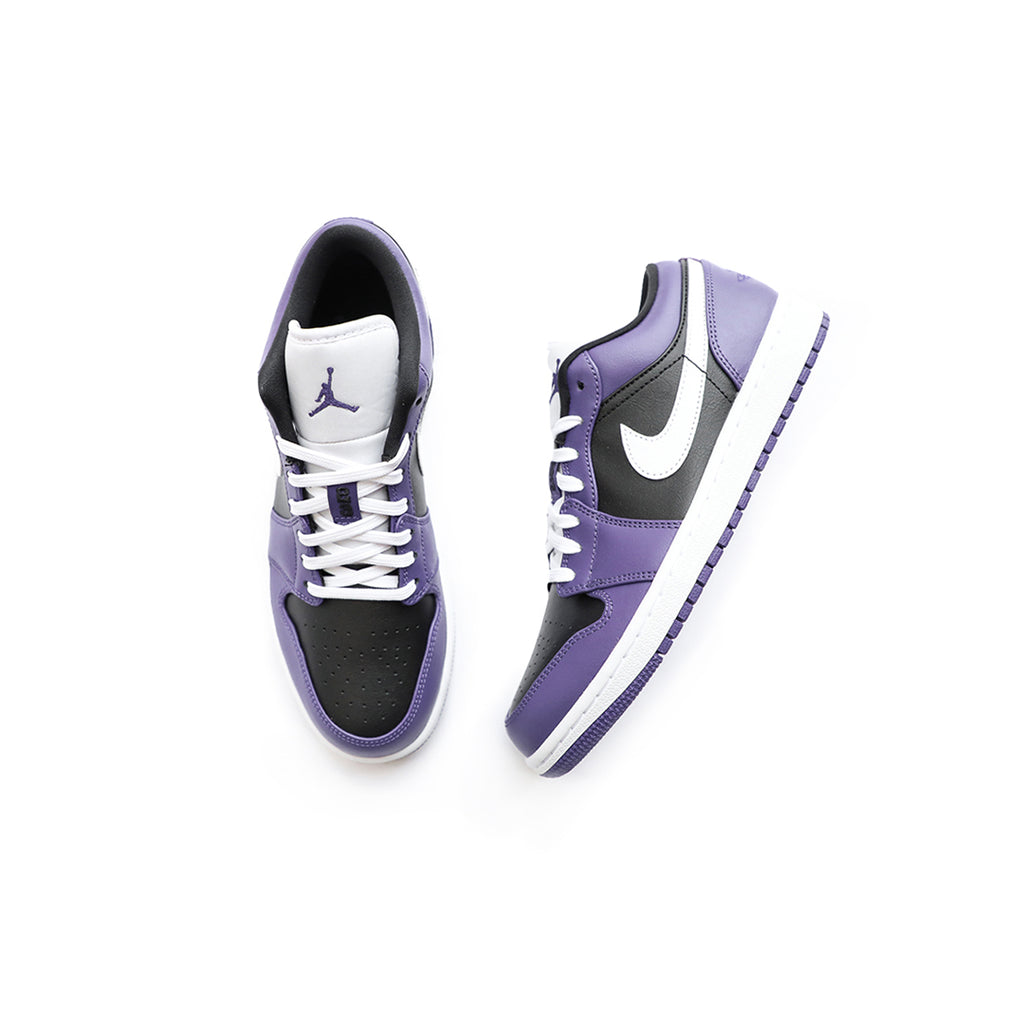 Air Jordan 1 Low (Court Purple/White/Black)