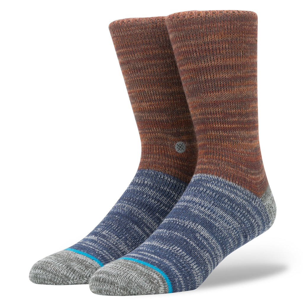 Stance Arica Socks (Rust Brown)