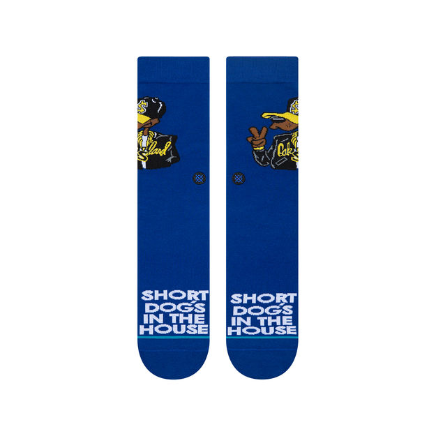 Stance Short Dog Socks (Blue)