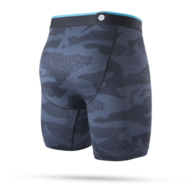 Stance Leopard Camo Boxer Brief (Black)