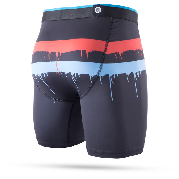 Stance Summers Over Boxer Brief (Black) - Stance Summers Over Boxer Brief (Black) -