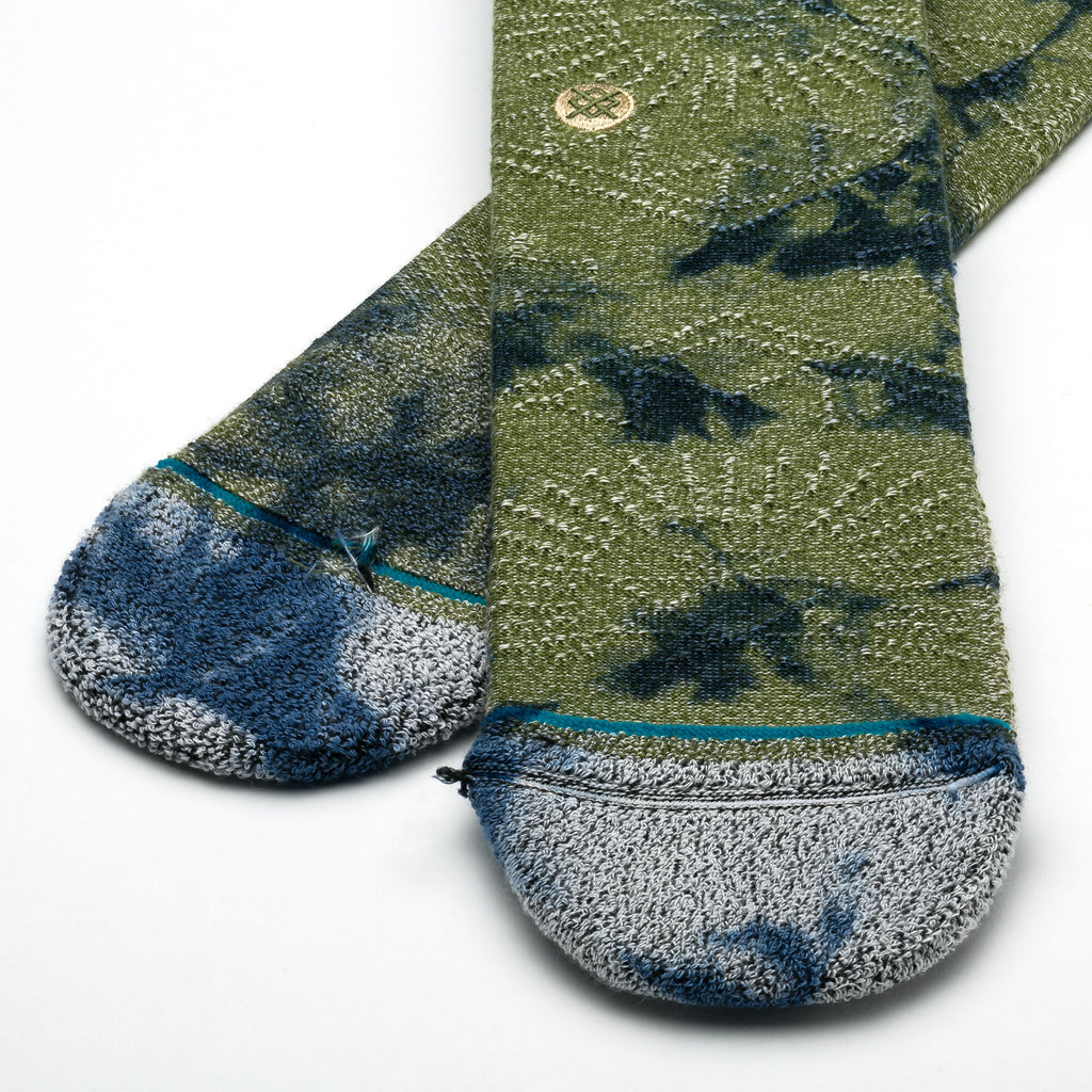 Stance Monte Claro Socks (Army Green)