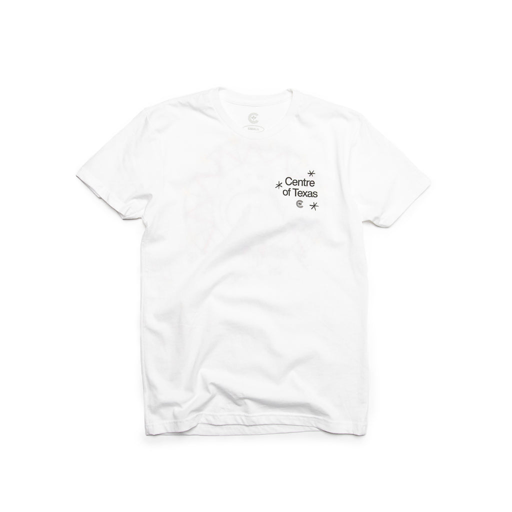 Centre Of Texas Midway Tee (White)