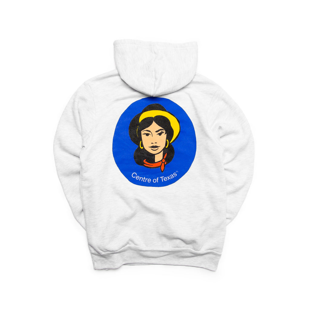 Centre Of Texas Miss Tex Hoodie (Ash)