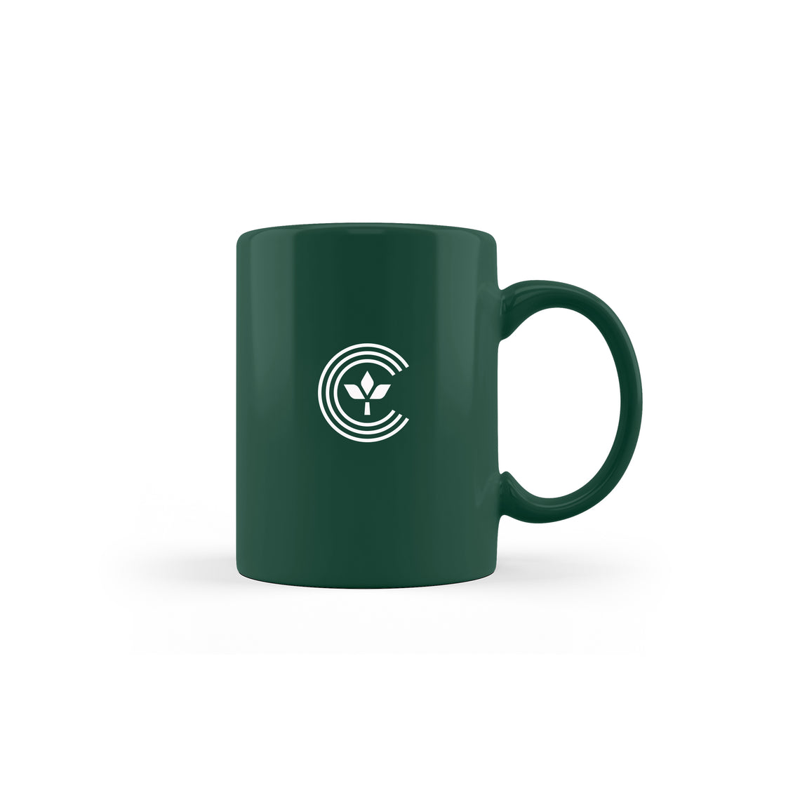 Centre Homegrown Mug (Dark Green) - Centre Homegrown Mug (Dark Green) -