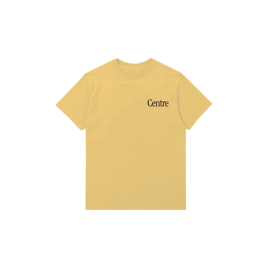 Centre Fort Worth Brick & Mortar Tee (Mustard/Black)