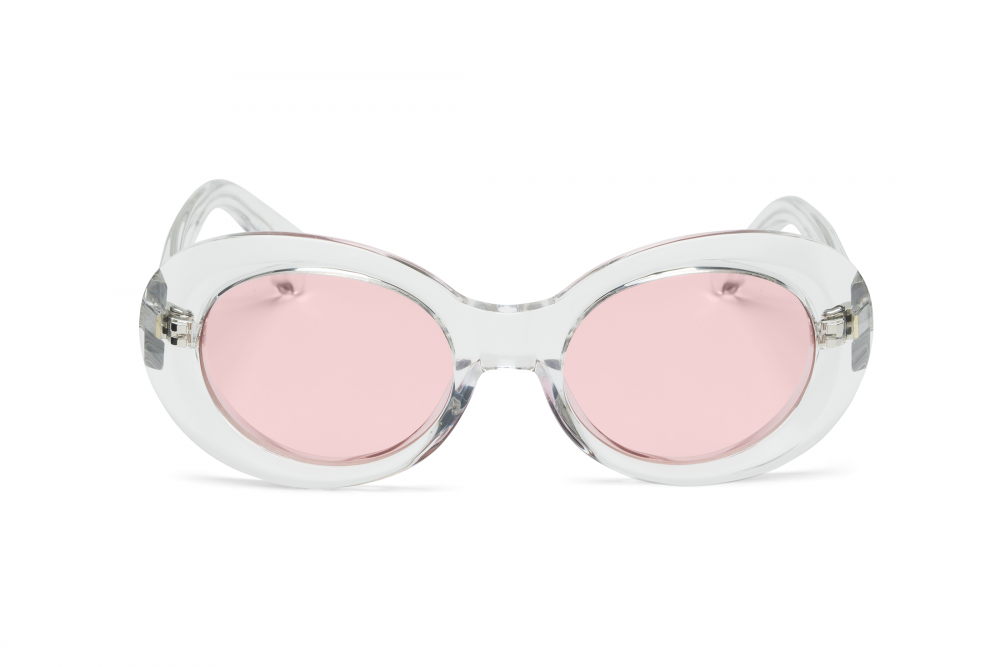 Wonderland Needles Sunglasses (Clear/Rose) - Wonderland Needles Sunglasses (Clear/Rose) -