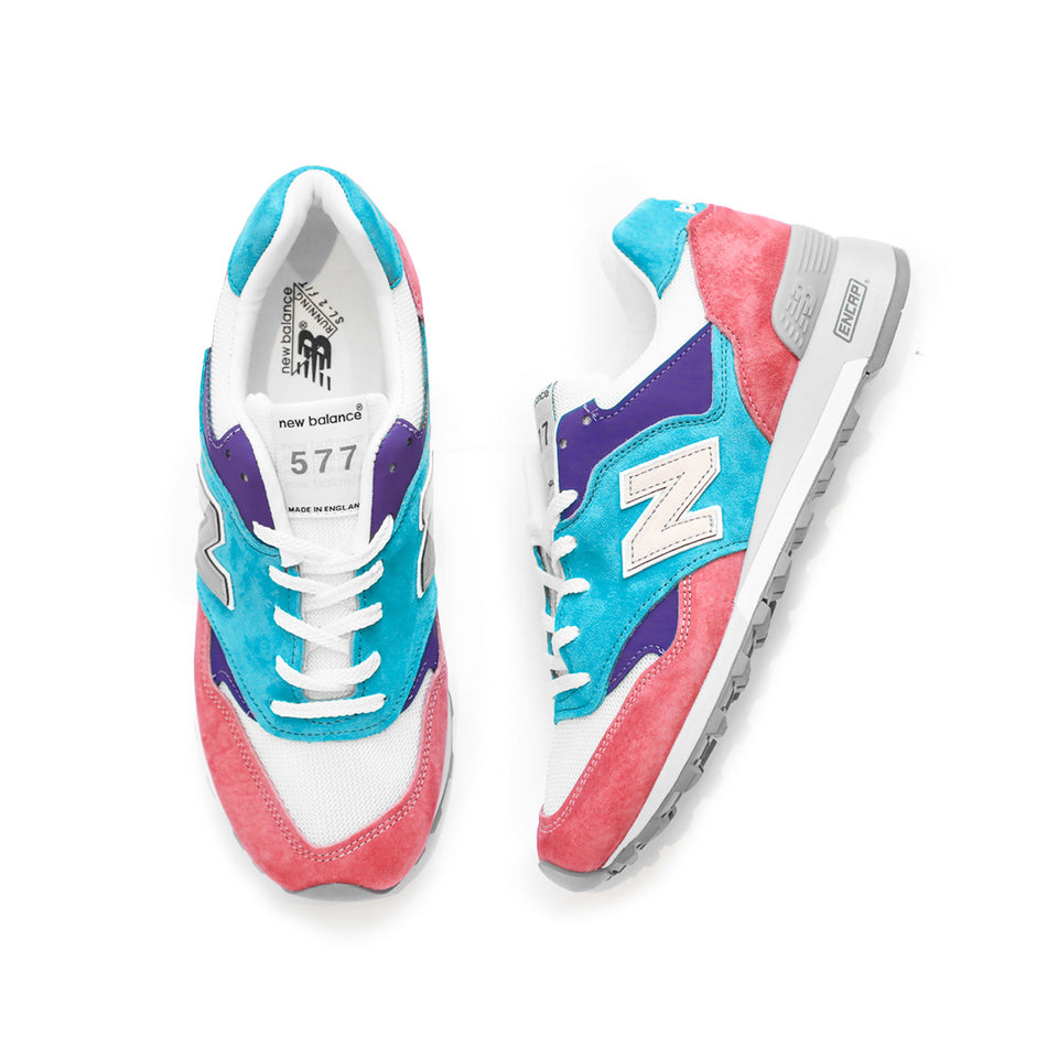 New Balance 577 Made In England (White/Multi) - New Balance