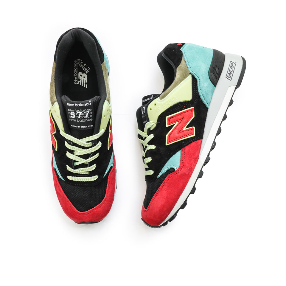 New Balance 557 Made In England 'Spring Trail' (Black/Multi) - New Balance