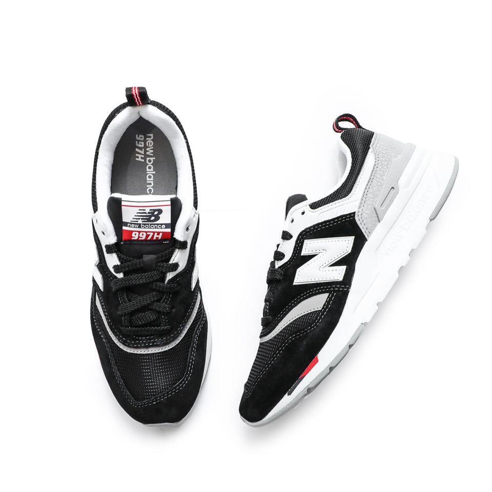 New Balance Women's 997H (Black/White/Team Red) - New Balance