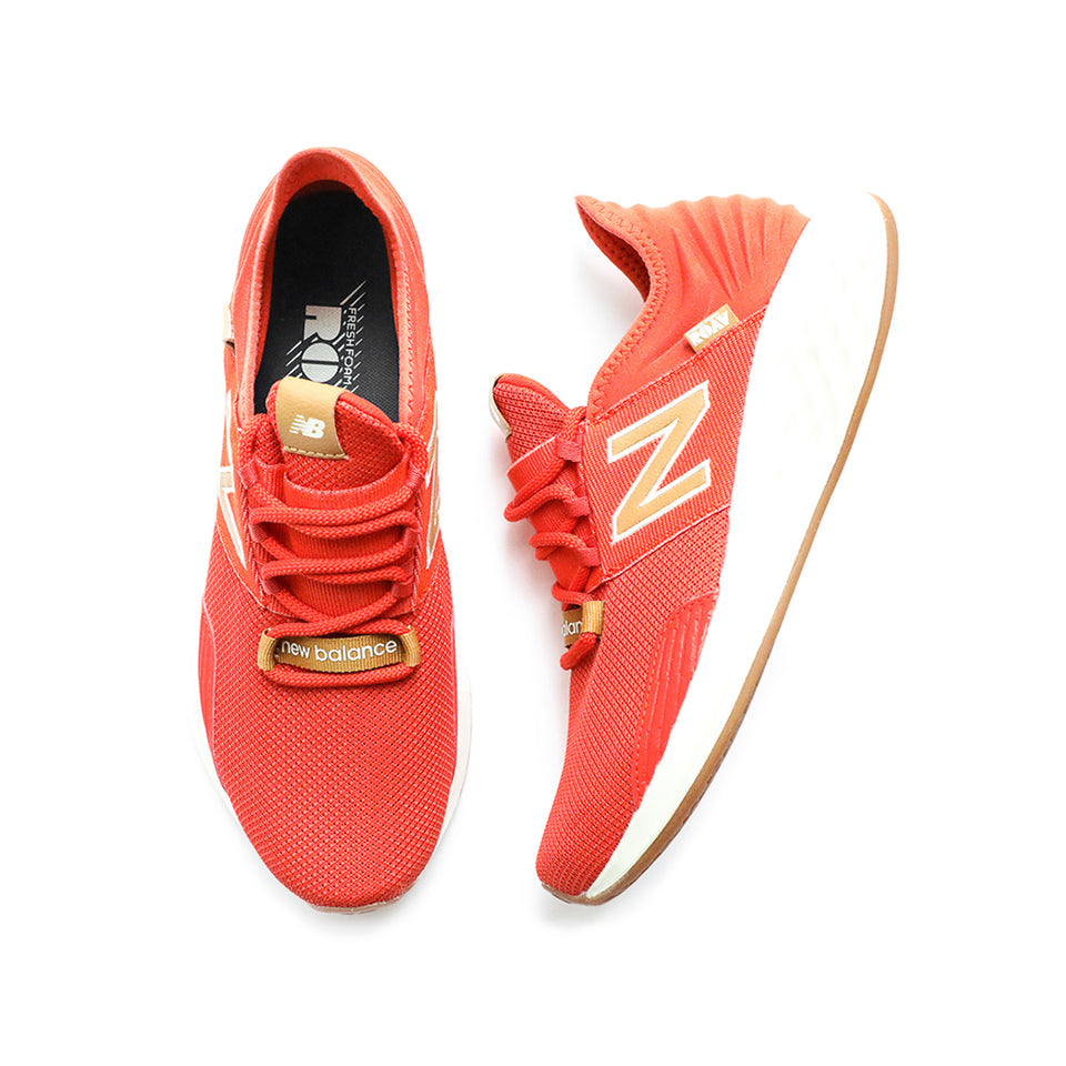 New Balance Fresh Foam Roav Knit (Orange/Tan-Gum) - New Balance