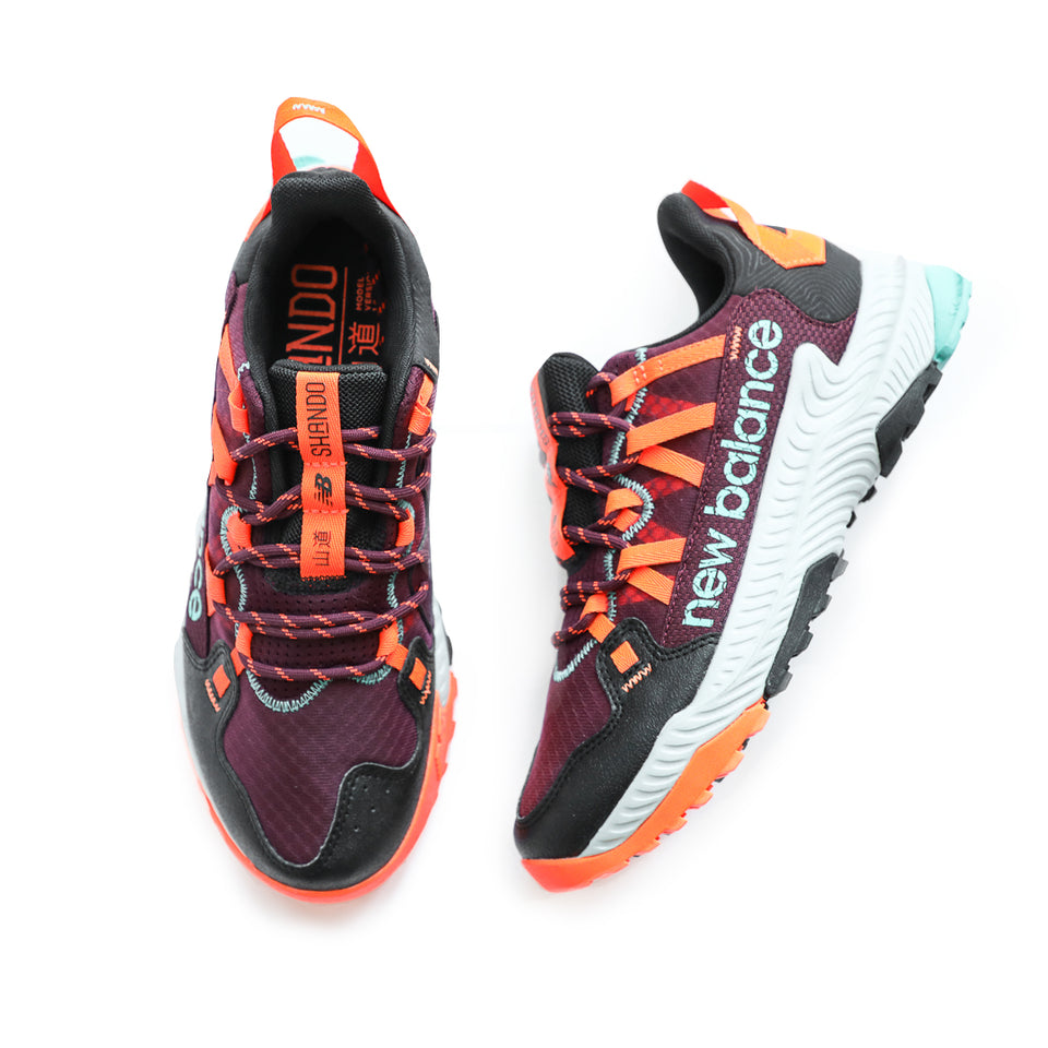 New Balance Shando Trail Runner (Burgundy/Blaze) - New Balance
