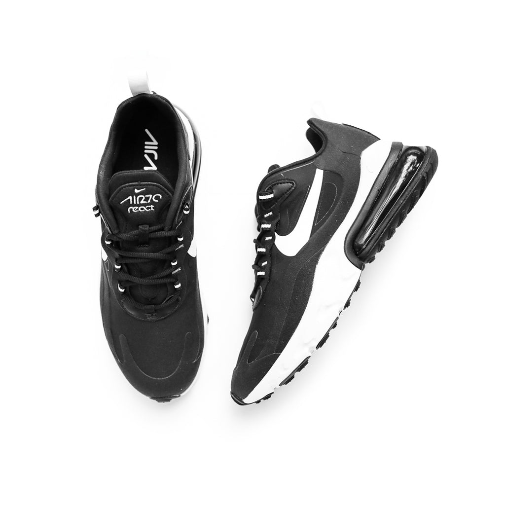 Nike Air Max 270 React (Black/White/Black)