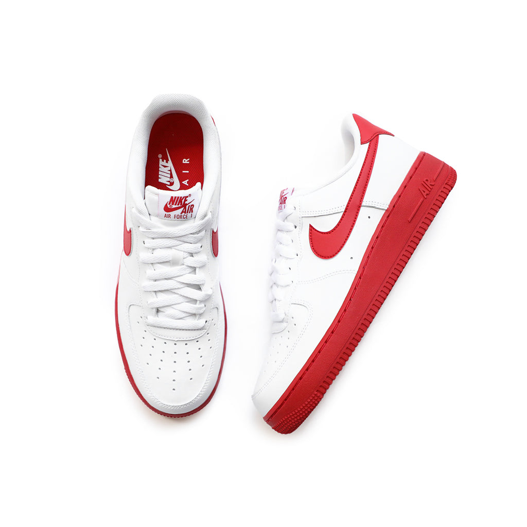 Nike Air Force 1 '07 (White/University Red-White)