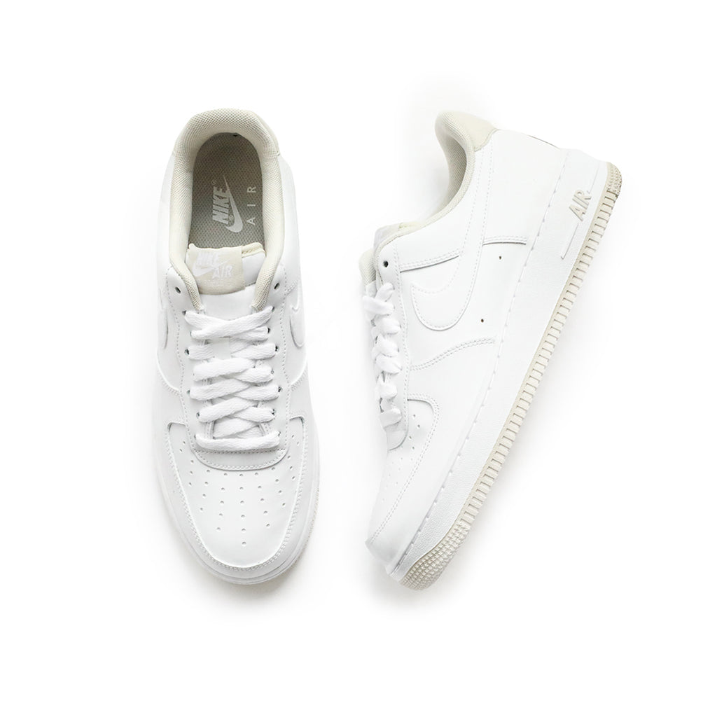 Nike Air Force 1 '07 (White/White-Light Bone)