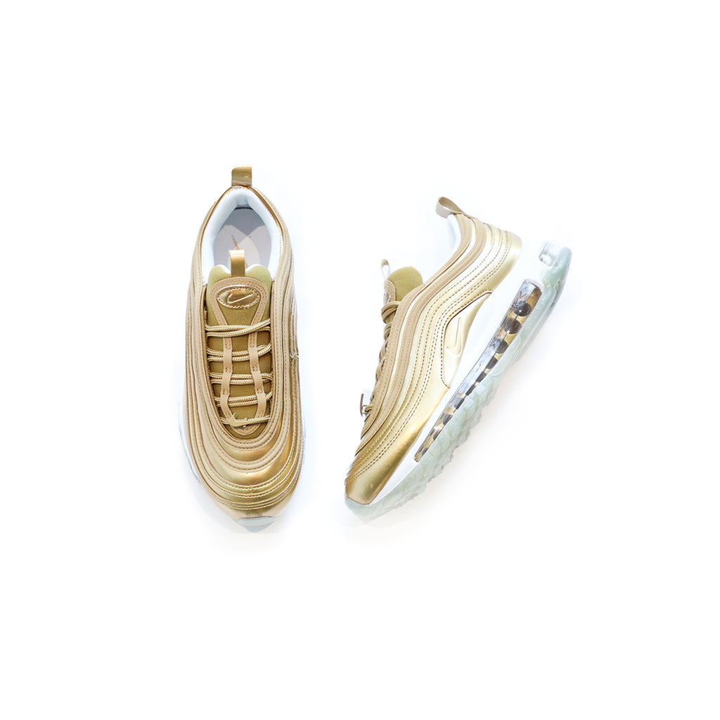 Nike Women's Air Max 97 LX (Metallic Gold/White)