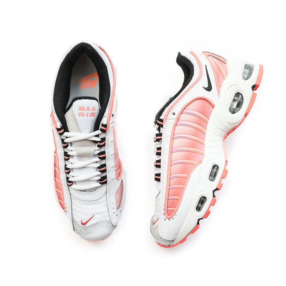 Nike Women's Air Max Tailwind IV (White/Black-Atomic Pink) - Women