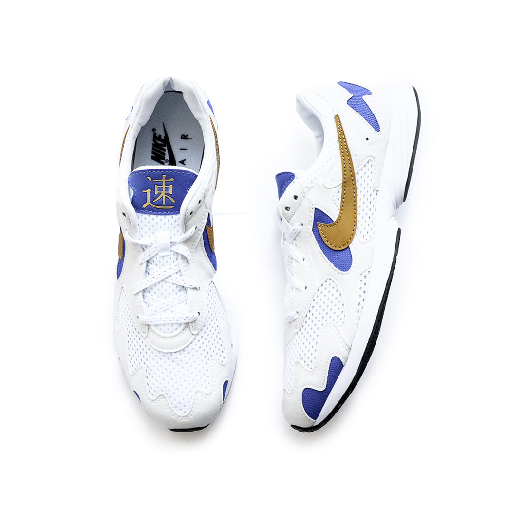 Nike Air Streak Lite (Summit White/Metallic Gold) - Nike Air Streak Lite (Summit White/Metallic Gold) -