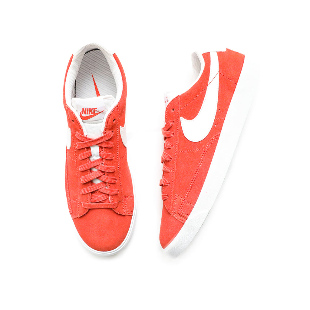 Nike Blazer Low Suede (Mantra Orange/White-White)