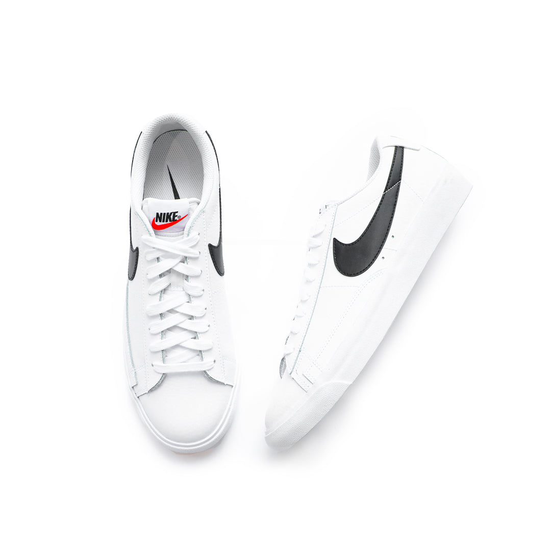 Nike Blazer Low Leather (White/Black-Orange Blaze) - Nike Blazer Low Leather (White/Black-Orange Blaze) -
