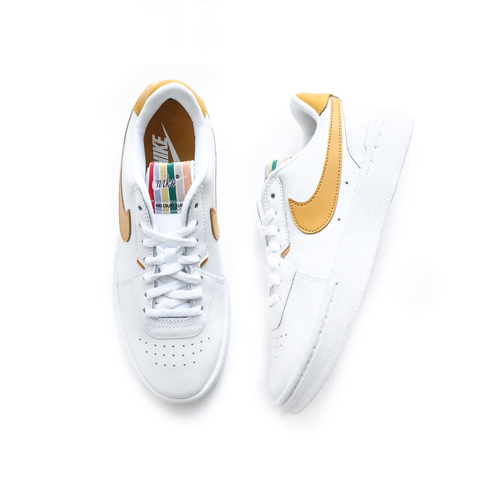 Nike Women's Court Blanc (White/Pollen Rise/Black)