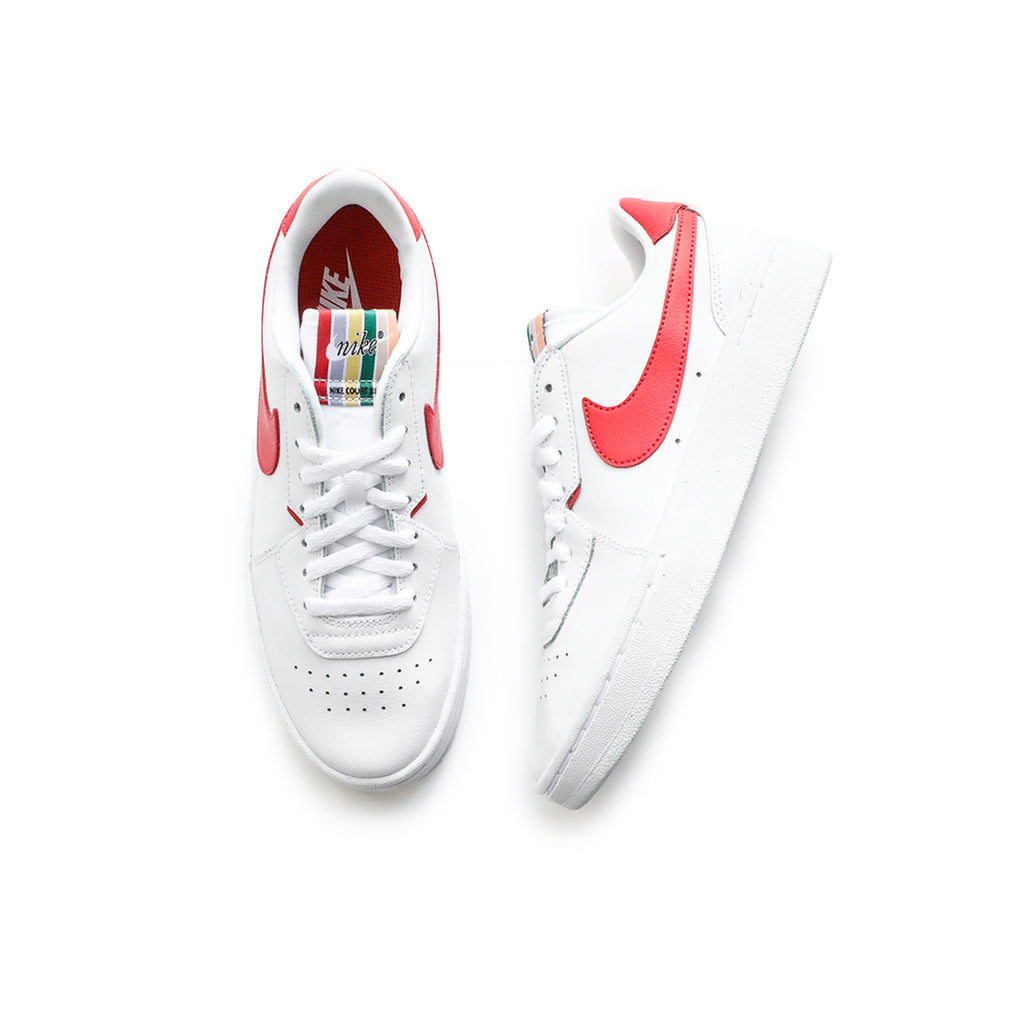 Nike Women's Court Blanc (White/Track Red/Black)
