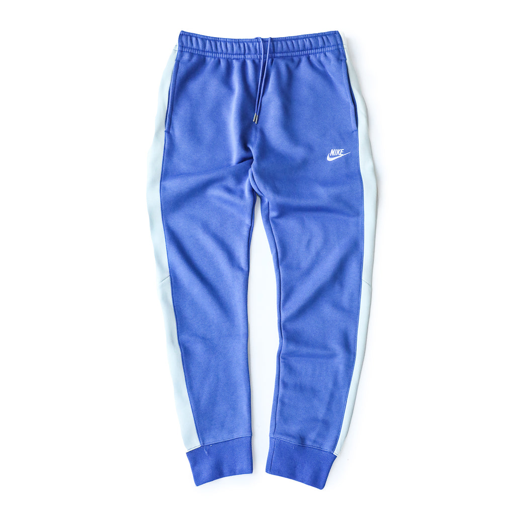Nike Sportswear Club Fleece Pants (Astronomy Blue/Light Grey-White)
