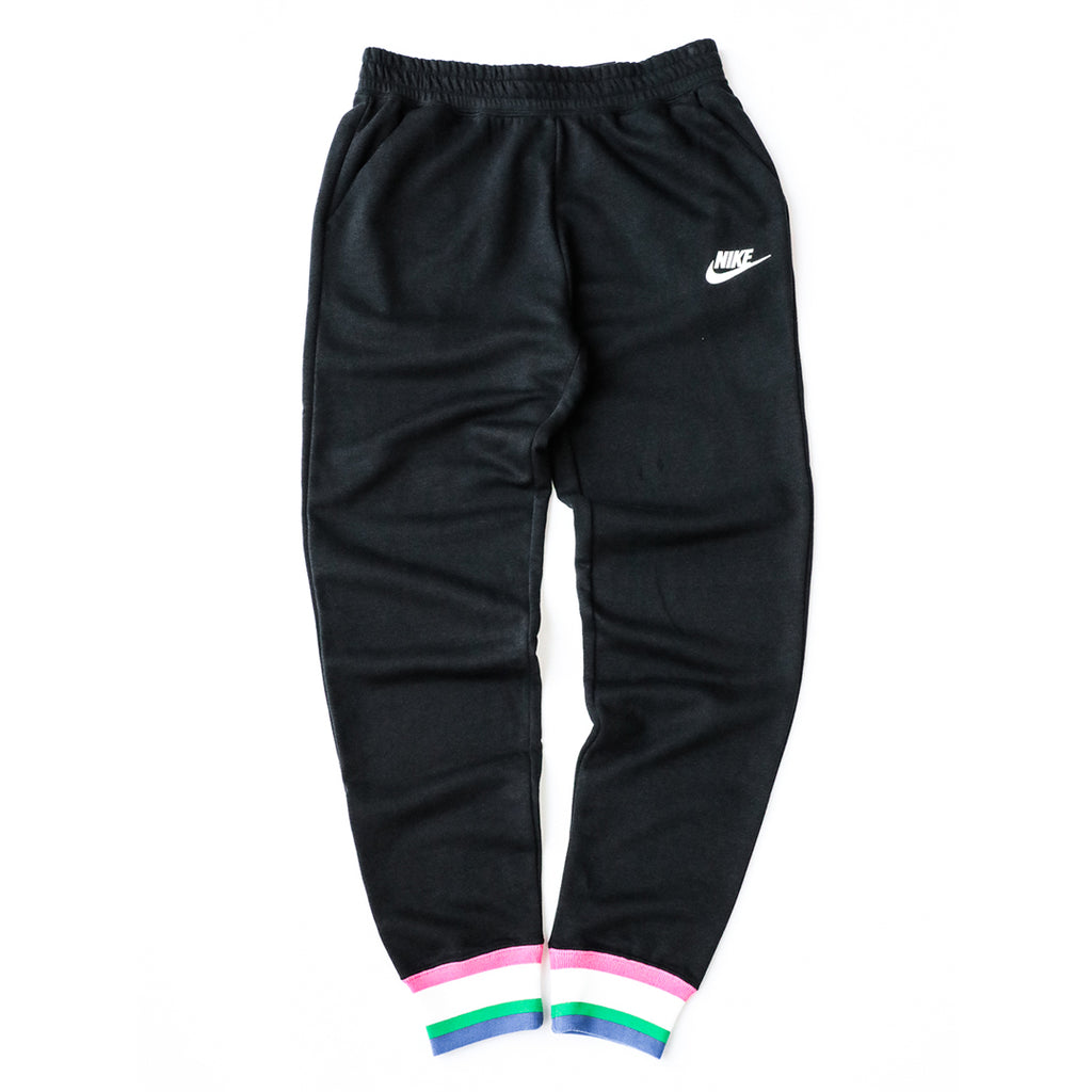 Nike Sportswear Heritage Pants (Black/White-Multi)